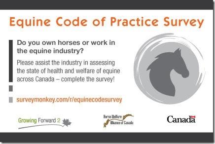 EquineCodeofPracticeSurvey
